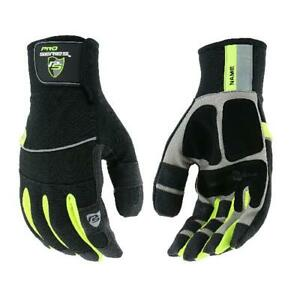 Waterproof Work Gloves West Chester Hi dex Winter With Hi vis Forchettes Id Tag