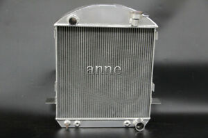 3 Rows Aluminum Radiator For 1917 1926 Ford Model T 2 9l 177cu L4 Chevy Engine