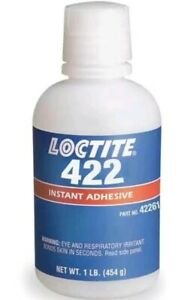 Loctite 233929 Instant Adhesive 1 Lb Bottle clear 422 tm Brand New