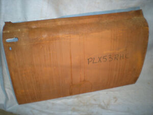 53 54 1953 1954 Plymouth Coupe Belevedre Right Door Skin Patch Panel
