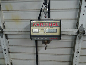 Cardinal Cc2000 Commercial Electronic Hanging Scale 2000 Lb X 1 0 Lb