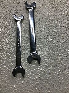 Snap On Usa Rs1214a 3 8 7 16 Rs1416b 7 16 1 2 Speed Wrenches Good C 1