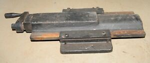Antique Lathe Slide Collectible Milling Table Machinist Machine Tool Early
