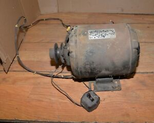 Antique Wagner Electric Alternating Current Motor 1 4 Hp 110 V Collectible Tool