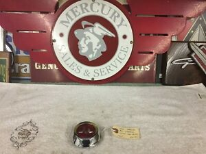 1954 Mercury Accessories Horn Ring Center Medallion