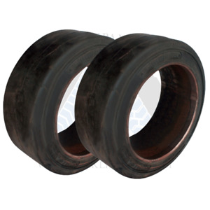 8 1 2x4x4 American Solid Forklift Tires 81244 8544 Usa Sm 2x Deal