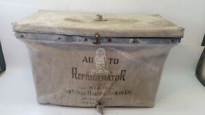 Auto Refrigerator Model T Ford Fender Drink Cooler Antique Auto Accessory Stoll