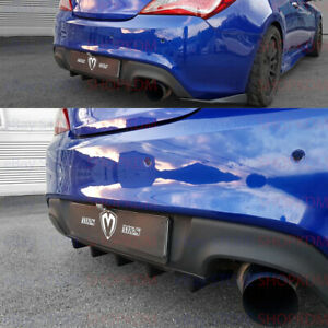 Us Ship M S Rear Diffuser For Hyundai Genesis Coupe All Model Years