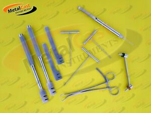 Assorted Orthopedic Instrument Set Of 10 Pcs Surgical Veterinary Instrument