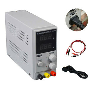 Regulated Dc Power Supplies Lcd Dual Digital Display Adjustable Digital 30v 10a