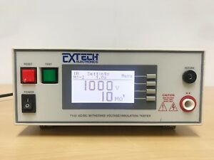 Extech 7142 Ac dc Withstand Voltage insulation Tester