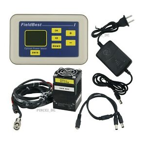 10mw 100w Optical Power Meter Laser Power Meter Tester High Accuracy With Probe