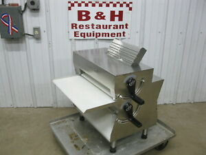 Proluxe Stainless Steel Double Pass Pizza Dough Bakery Sheeter Roller Dpr3000