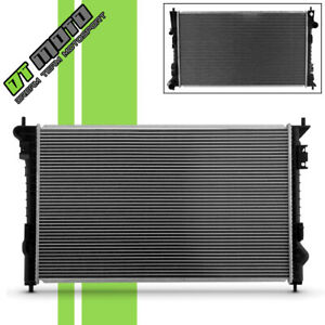 New Aluminum Radiator For Ford Edge Taurus Lincoln Mkx Mks Mercury Sable 2937