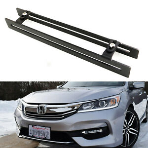 Lower Grille License Plate Mounting Bracket Relocation For 2012 17 Honda Accord