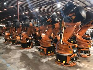 Used Kuka Kr210 2 6 axis Heavy Duty Industrial Robot 2010 One Of Many