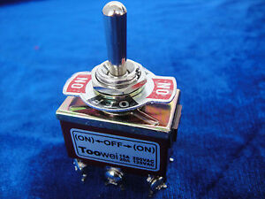 20 momentary 20a 125v Dpdt 2 Pole Double Throw 6 Pin on off on toggle Switch