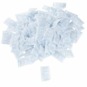 Silica Gel Packets 100 Pack 10 Gram Desiccant Moisture Humidity Absorbent