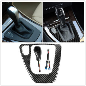 Lh Automatic Led Gear Shift Knob F30 Style Selector For Bmw 3 E90 91 92 06 09 Mo