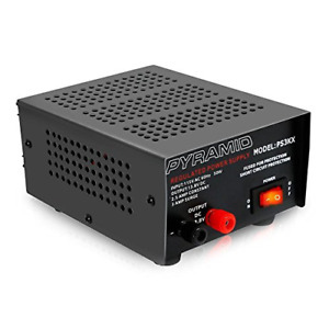 Universal Compact Bench Power Supply 2 5 Amp Linear Regulated Home Lab 12v