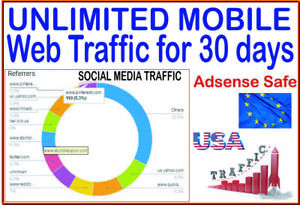 Get Traffic 30 Days Of Unlimited Mobile Web Traffic From Social Search Engines