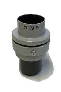 Zeiss photo lens adapter for trinocular microscope head part 477315