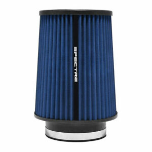 Spectre Blue Cold Air Intake Filter Hpr9885 9 Tall 3 5 89mm Clamp On 6 Diam