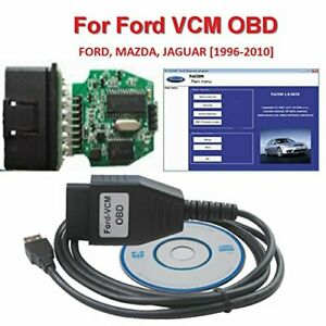 Royaltec Ford Vcm Obd Focom Diagnostic Interface Cable For Ford Mazda