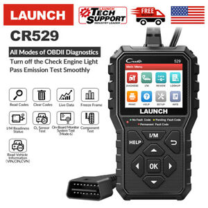 Launch Cr529 Obd2 Can Obdii Auto Car Code Reader Diagnostic Scanner Tool Engine