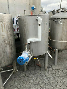 Stainless Steel Food Grade Jacketed Tank Approx 160 Gallons Used Good Shape