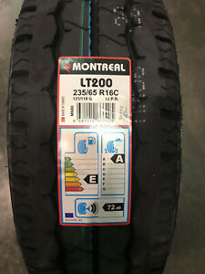 2 New 235 65 16 Montreal Lt 200 12 Ply Commercial Tires