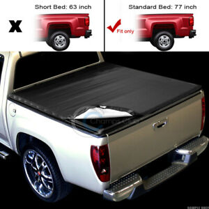 Snap On Tonneau Cover For 05 11 Dodge Dakota Raider Extended Club 6 5 Ft 78 Bed