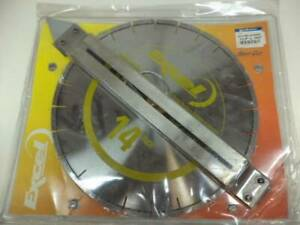 New Soff cut Excel 14 Yellow Early Entry Diamond Saw Blade Xl14s14 5000 Sp1t2