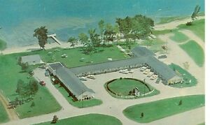 HOUGHTON LAKE MICHIGAN HOLIDAY MOTEL ROUTE 27 WEST SHORE MICH H#2* $1.00