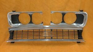 1970 Plymouth Fury Grille Headlight Bezels