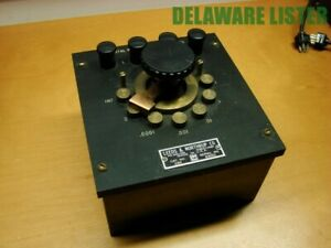 Vtg Leeds Northrup Cat 2166 Total Resistance 10 000 Ohms Made In Usa