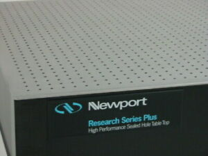Newport Research Series Plus 4 x8 x12 Optical Table With Xl a Pneumatic Isolato