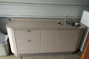 Adec Dental Side Cabinet Sink Consoles 3 Available