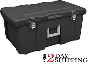 Pickup Truck Trunk Bed Storage Tool Box Garage Trailer Chest Heavy Duty Camo