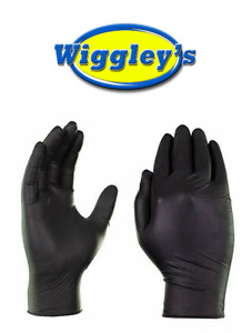 Black Nitrile Professional Latex Powder Free Gloves case Of 1000 Large