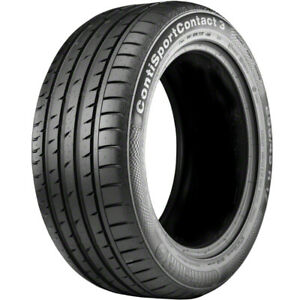 4 New Continental Contisportcontact 3 215 45r17 Tires 2154517 215 45 17