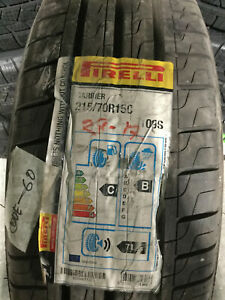 2 New 215 70 15 Pirelli Carrier 8 Ply Commercial Tires