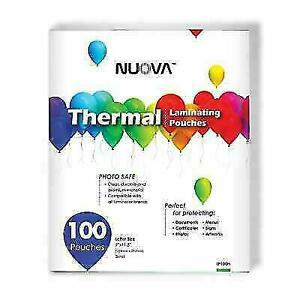 Nuova Premium Thermal Laminating Pouches 9 X 11 5 letter Size 3 Mil 200 a10
