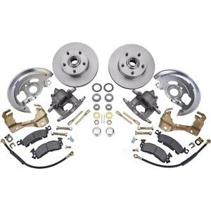 Speedway Motors Deluxe 1964 74 Gm A Body Chevy Chevelle Car Front Disc Brake Kit
