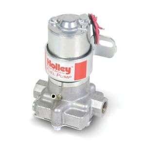 Holley 712 801 1 97 Gph Electric Fuel Pump Red