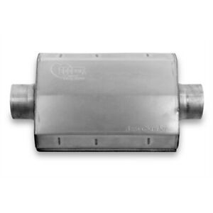 Hooker 21507hkr Aero Chamber Muffler 3 1 2 Inch Center In out