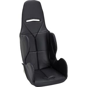 Safety Racing Budget Aluminum Stock Car Seat W Black Upholstery 18 Inch Wide