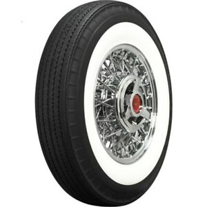 Coker 670r15 American Classic Bias Look Radial 2 75 In Whitewall Tire