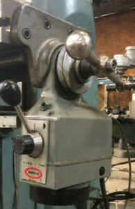 Milling Machine Power Feed Servo Type 140 115 Volts Use Working
