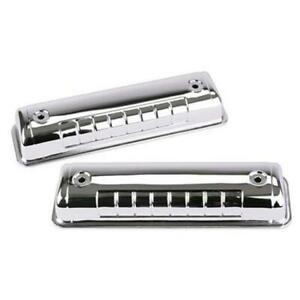 Ford Y Block Chrome Steel Valve Cover